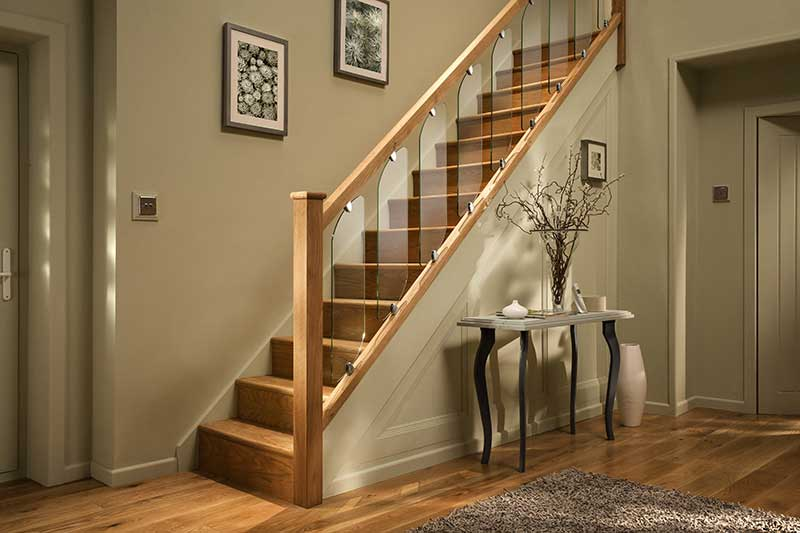 Lighting Basement Washroom Stairs: Clarity Range By Cheshire Mouldings