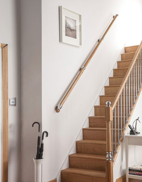 Oak Pine Handrail Kits Rail In A Box Stair Parts By Cheshire