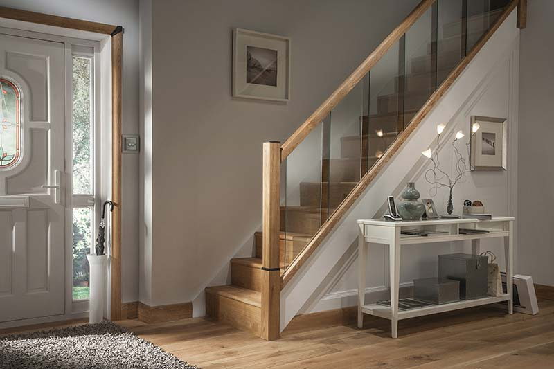 Glass Staircases Reflections Range By Cheshire Mouldings