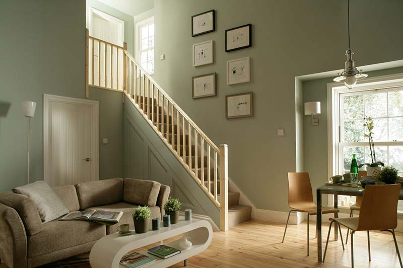 Benchmark Pine Staircase