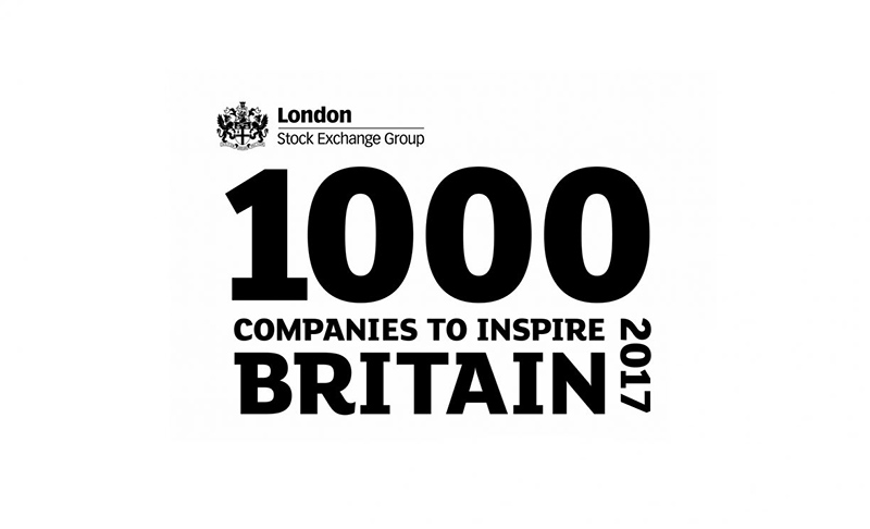 London Stock Exchange 1000 Companies to Inspire Britain 2017