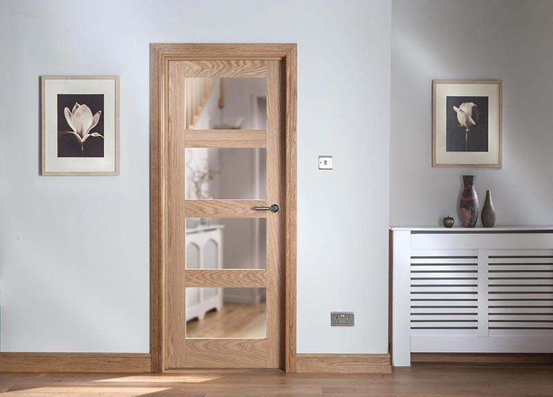 new arrival 5f090 71d81 Glazed Internal Hardwood Doors | Oak Doors By Cheshire Mouldings