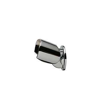 Axxys Round Handrail Connector in Chrome
