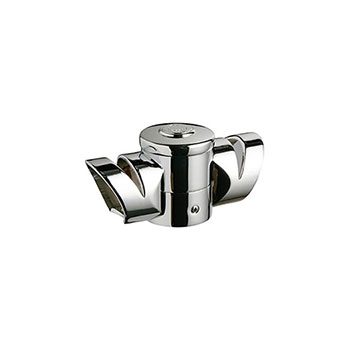 Axxys Multi Angle Landing Connector in Chrome