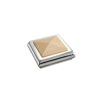 Benchmark Solo Square Cap - Pine/Chrome