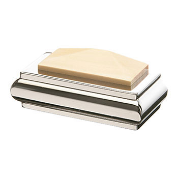 Half Benchmark Solo Square Cap - Pine/Chrome