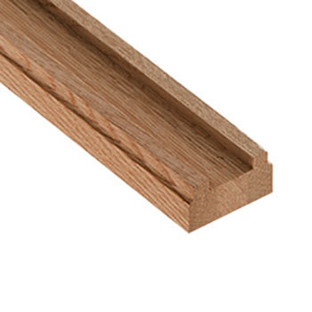 Oak Benchmark 2400mm Length 41mm Groove Baserail