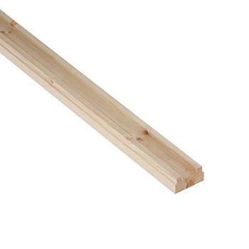 Pine Benchmark 3600mm Length 32mm Groove Baserail