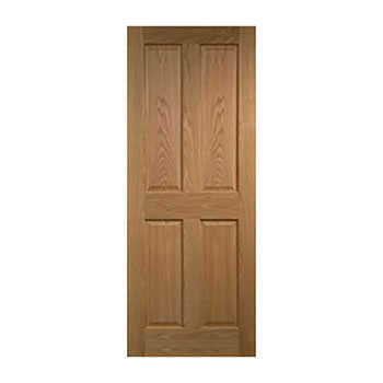 Pre-Finished Oak 610mm wide Internal Door from the Cheshire range