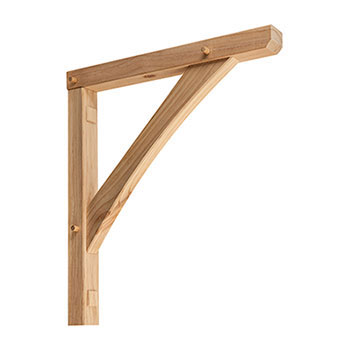 Pine  Gallows Bracket