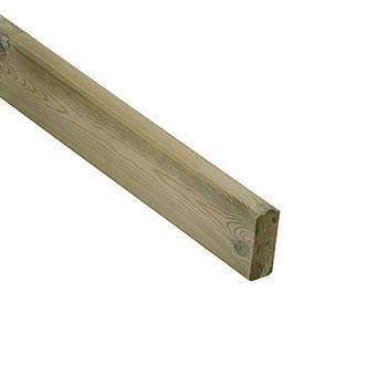 Pine Dek Treated Pine Metal baluster Rail