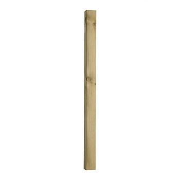 Pine 1250 Long Treated Deck Newel Blank