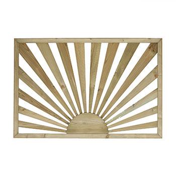 Pine Sunburst Panel 38x760x1130