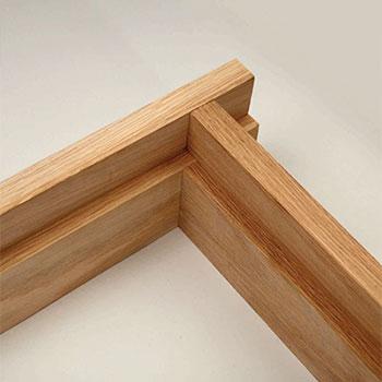 Oak 108mm Door Lining Set