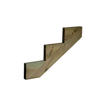 Pine 3 Tread Deck String 245 X 868