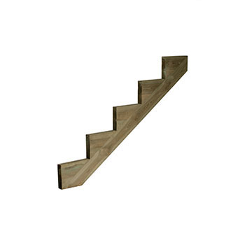 Pine 5 Tread Deck String 245X1447