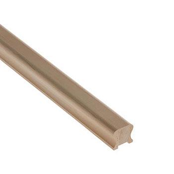 Hemlock Benchmark 2400mm Length 32mm Groove Handrail