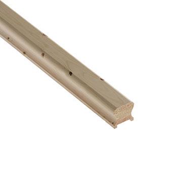 Pine Benchmark 2400mm Length 41mm Groove Handrail