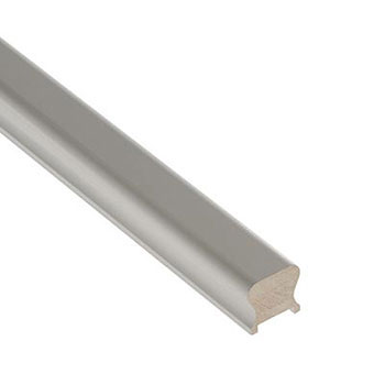 White Primed Benchmark 4200mm Length 41mm Groove Handrail