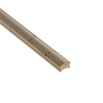 Pine Benchmark 4200mm Length 41mm Groove Handrail