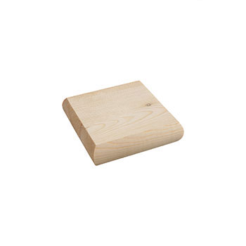 Pine Low Profile Newel Cap