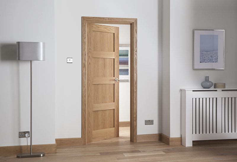 Modernus 5 Panel Oak Door Landscape