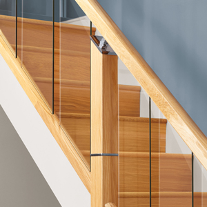 Supportive image to help with the Oak Reflections 2400mm Length Handrail