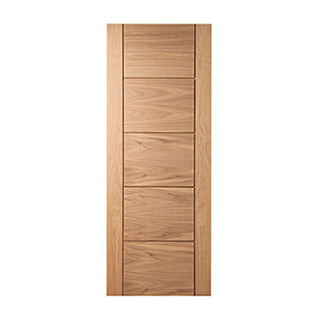 Pre-Finished Oak 762mm wide Internal Door from the Modernus range