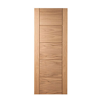 Oak 838mm wide Internal Fire Door from the Modernus range