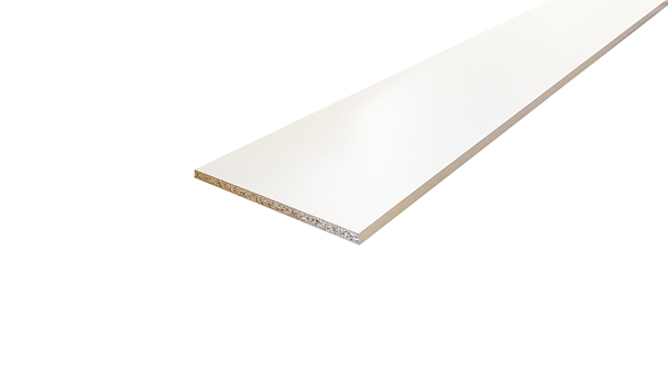 15mm x 535mm 1830mm Board Sheet Material in Melamine White