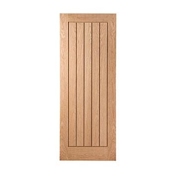 Oak 838mm wide Internal Door from the Mexicano range
