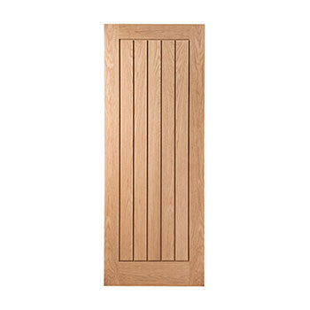 Oak 838mm wide Internal Fire Door from the Mexicano range
