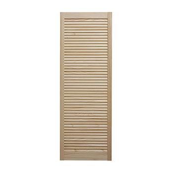 Pine (L)29mm (W)1524mm (T) 533mm Louvre Door No  sc 1 st  Cheshire Mouldings & Louvre Door with Centre Rail in Pine pezcame.com