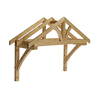 Pine  Apex Porch Canopy 1560mm