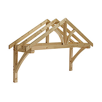 Pine  Apex Porch Canopy 1960mm