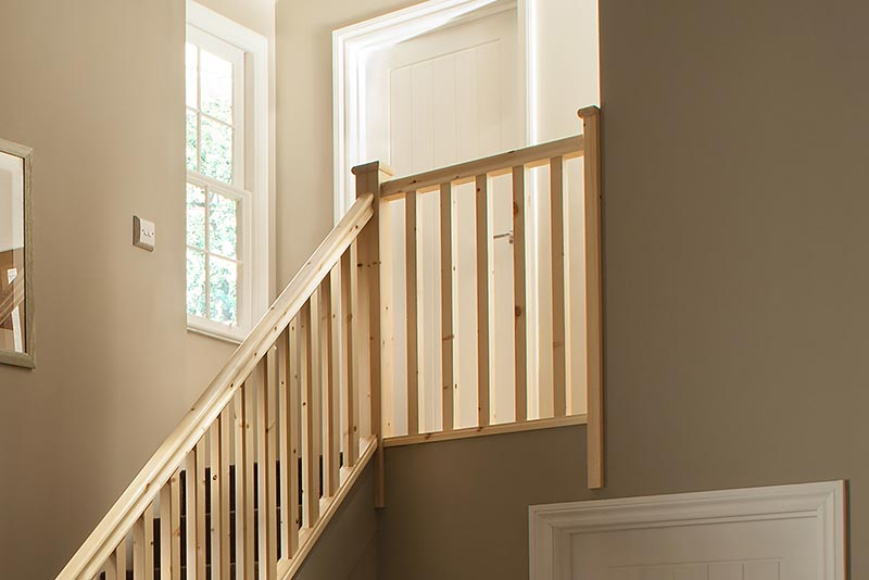 41mm Groove Square Landing Stairkit in Pine