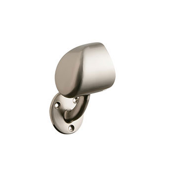 Rail-In-A-Box Left hand End Cap in Brushed Nickel