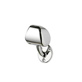 Rail-In-A-Box right hand End Cap in Chrome
