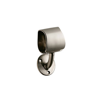 Rail-In-A-Box Intermediate Bracket in Brushed Nickel