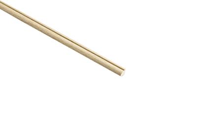 Light Hardwood 2400x9x9 Glass Bead