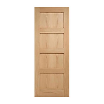 Oak 838mm wide Internal Fire Door from the Shaker range