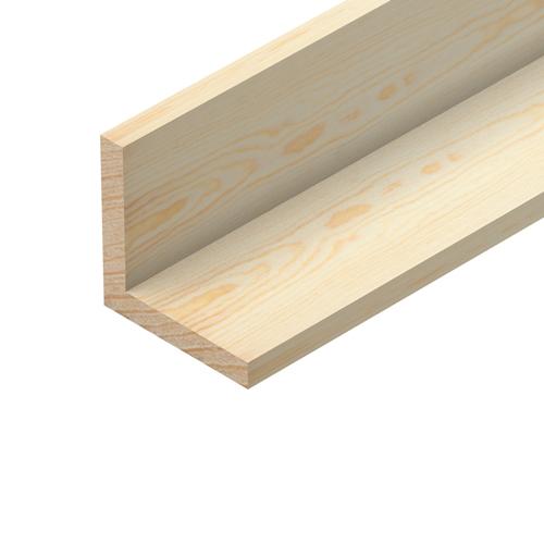 Pine 2400x32x32 Square Corner