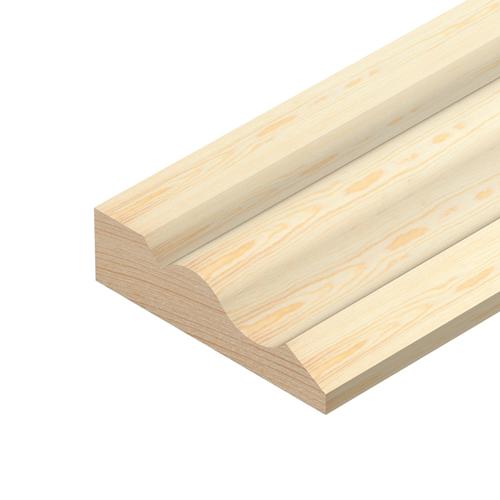 Pine 2400x55x15 Ogee