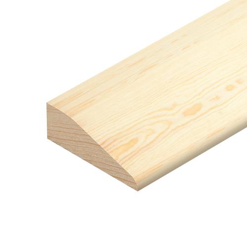 Pine 2400x70x15 Chamfered