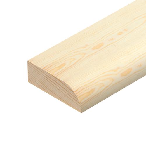 Pine 2400x70x15 Pencil Round