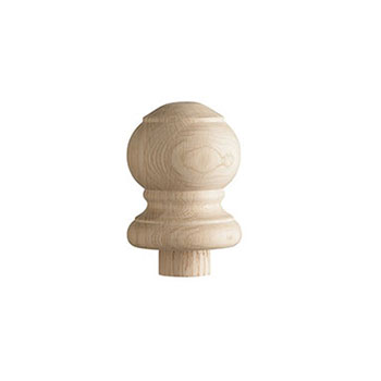 Warwick 115mm Oak Newel Ball Cap